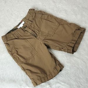Burberry khaki shorts cargo brown tan
